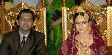 Rafiath Rashid Mithila with Thasan