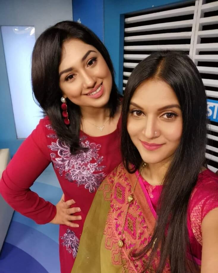 Mithila and Apu Biswas