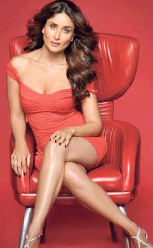 Kareena Kapoor with red color dress