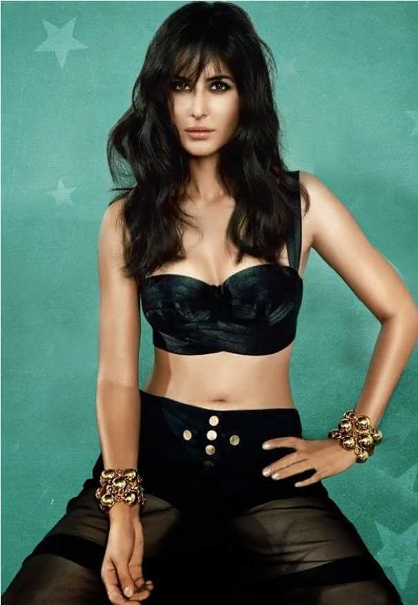 Katrina Kaif Black dress Photo