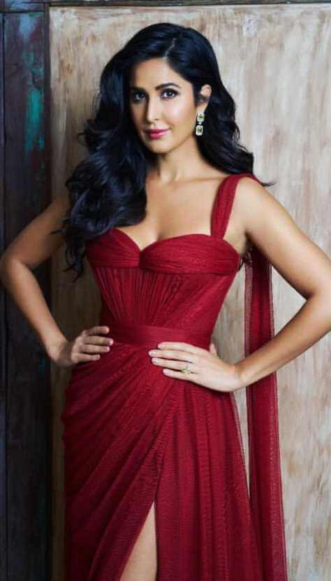 Katrina Kaif Red Color dress