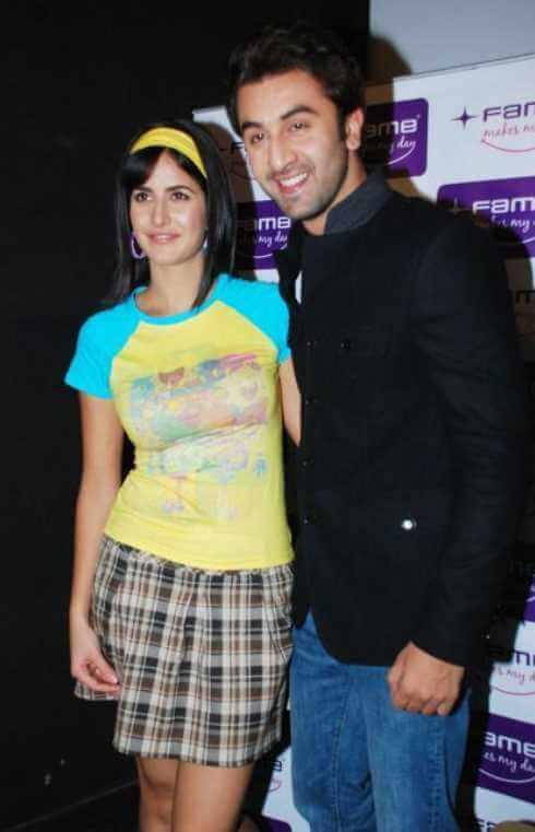Katrina Kaif with Ranbir Kapoor
