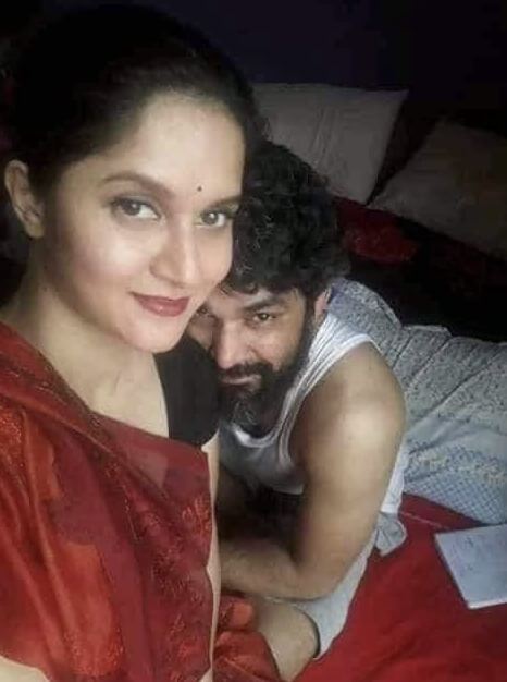 Mithila with Iftekhar Ahmed Fahmi
