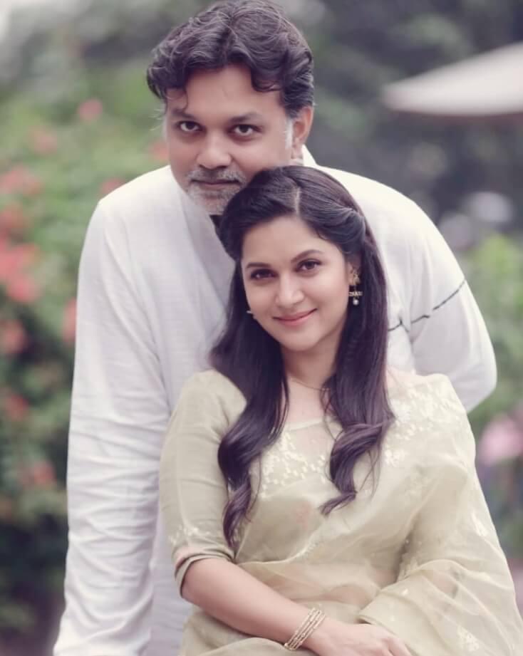 Mithila with Srijit Mukharjee