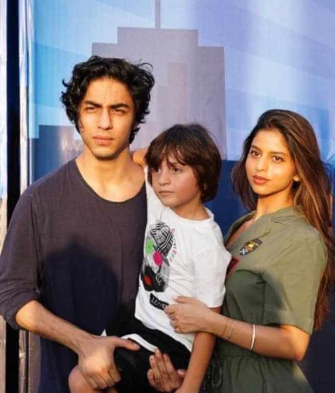Shah Rukh Khan Children Photo
