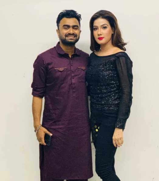 Imran Mahmudul with Mahiya Mahi