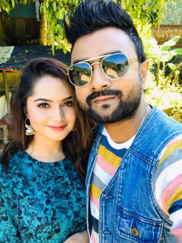 Imran Mahmudul with Payelia Payel