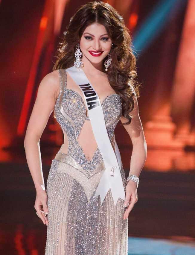 Urvashi Rautela Miss Universe India Photo