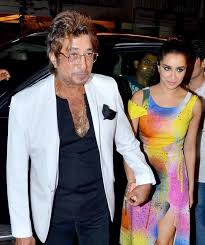 Shraddha Kapoor with her Father