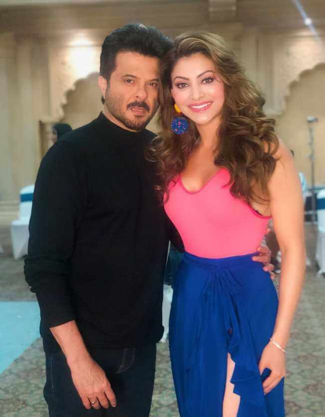 Urvashi Rautela With Anil Kapoor