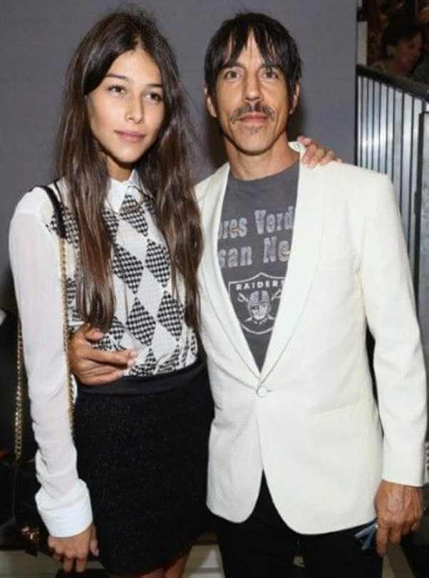 Hope Sandoval with Anthony Kiedis