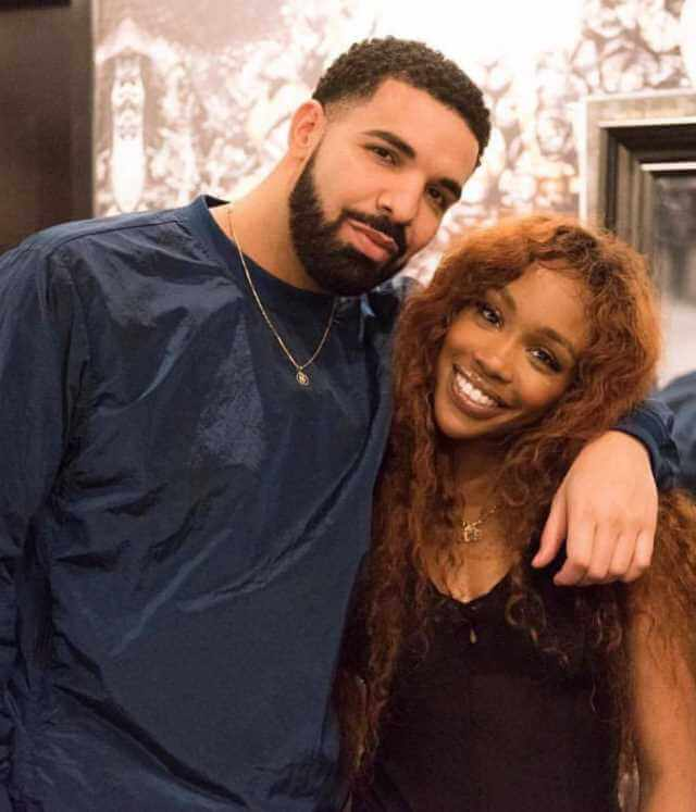 SZA with Drake