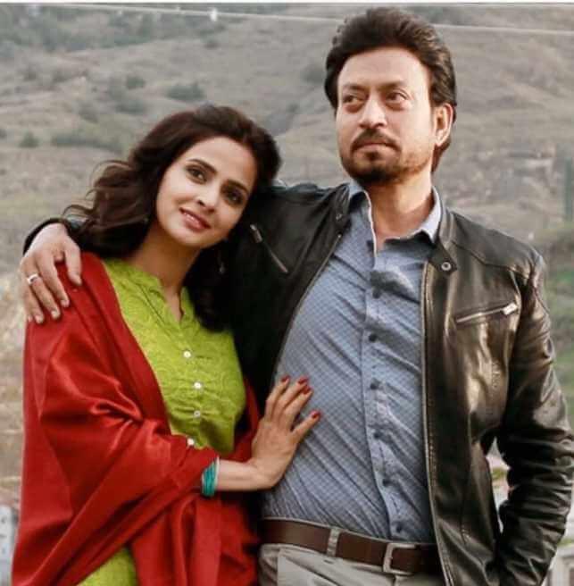 Saba Qamar with co-actor
