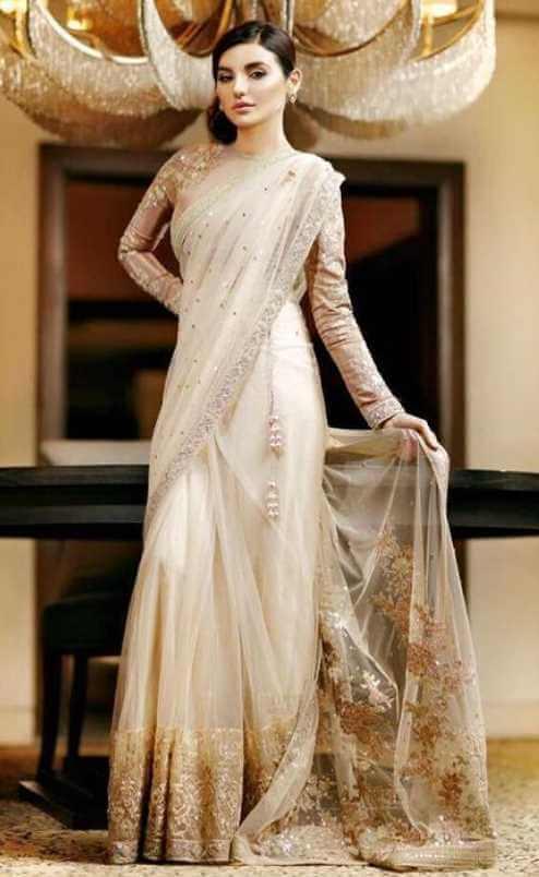Sadia Khan Saree Photo