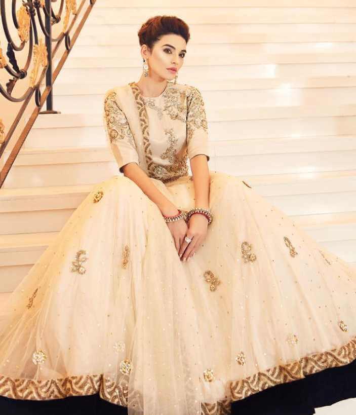 Sadia Khan White dress Image