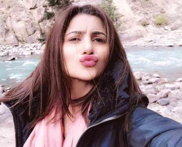 Sohai Ali Abro Selfie