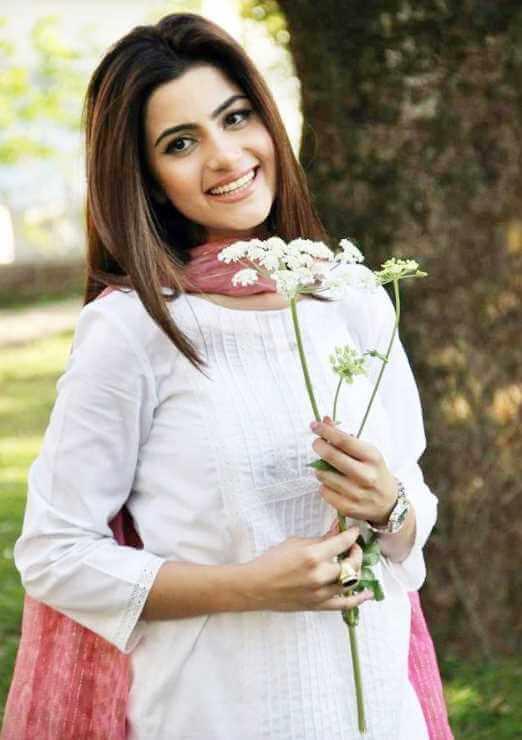 Sohai Ali Abro White Dress Image