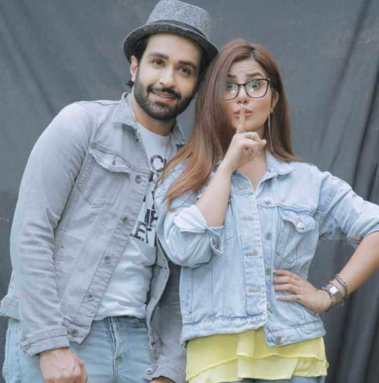 Sohai Ali Abro with her Co-actor