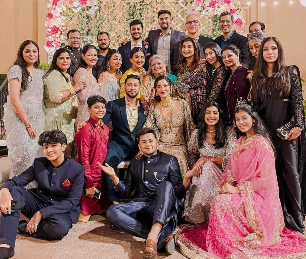 Awez Darbar family Photo