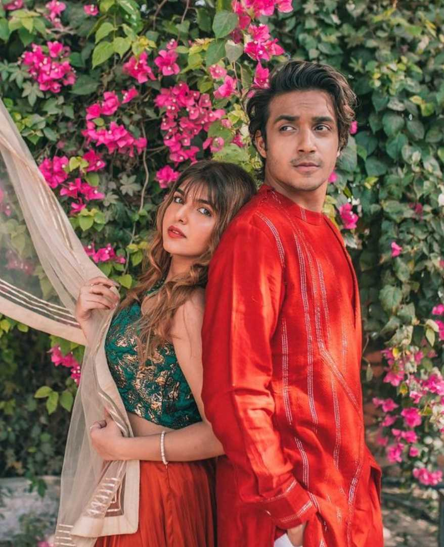 Ashi Khanna with her Boyfriend Tanzeel Khan Photo