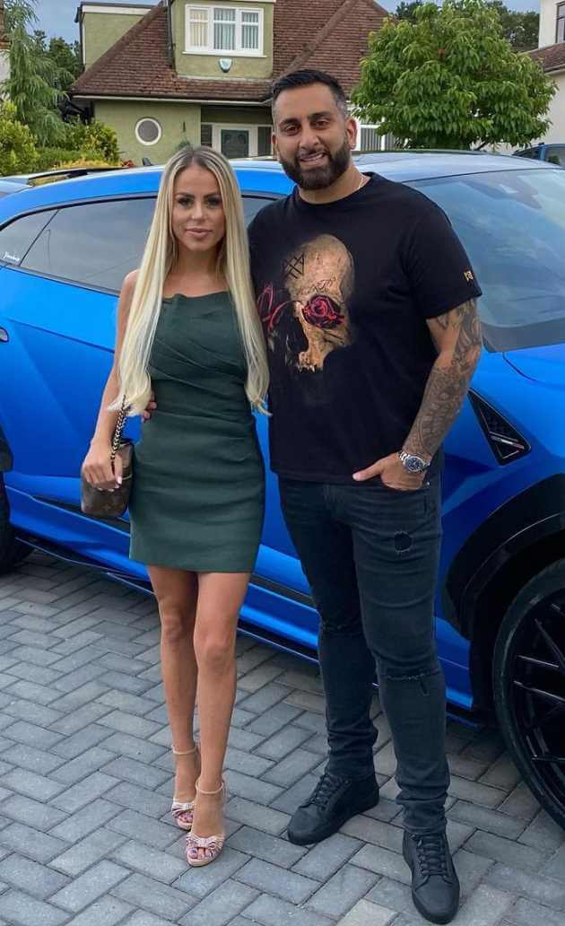 Yianni Charalambous with his Wife Photo